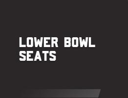Lower Bowl Seats
