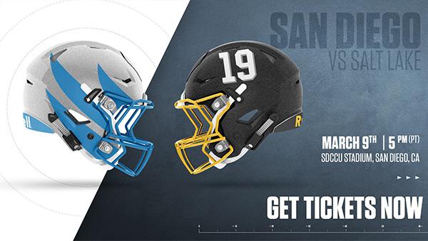 Alliance of American Football - San Diego Fleet