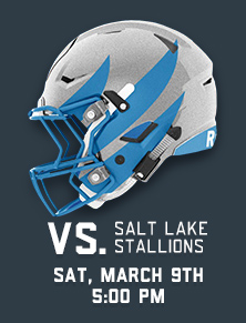 VS. Stallions - Sat March 9th at 5pm