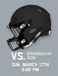 VS. Iron - Sun March 17th at 5pm