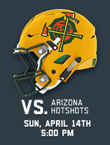 VS. Hotshots - Sun April 14th at 5pm